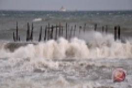 Nelayan bagan Gedambaan Kotabaru tidak berani melaut
