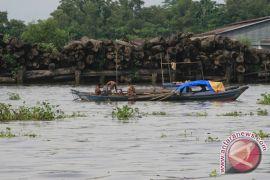 Sungai Martapura Banjarmasin Kembali Dipenuhi Sampah