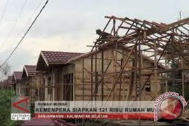 Kotabaru Terima Bantuan 354 Unit Rumah
