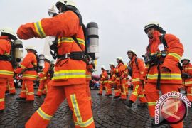 19 Barisan Pemadam Kebakaran Se-kotabaru Adu Ketangkasan