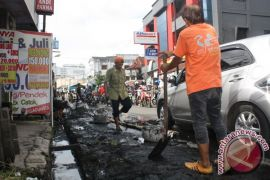 Banjarmasin only maintains drainage