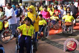 KPU Banjarbaru berikan pendidikan politik penyandang disabilitas