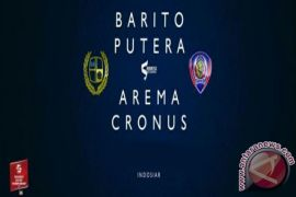 Barito Putera vs Arema goalless