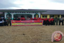 Polsek Amuntai Utara Sosialisasi Karhutla Di Sekolah
