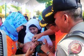 Dinkes Banjarbaru Vaksinasi Ribuan Santri