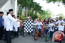 Lomba Sepeda Hias Ramaikan Peringatan 1 Muharram