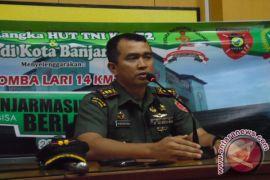 TNI Rintis Jalan Bermedan Gambut Sungai Gampa