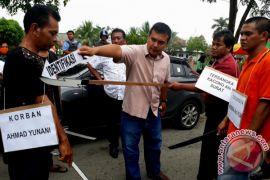 Polsekta Banjarmasin Timur Gelar Rekontruksi Kasus Pembunuhan