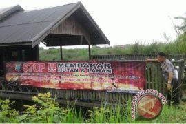 Polres HSS Giatkan Sosialisasi Antisipasi Karhutla