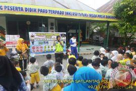Satlantas Banjarmasin Gelar Polisi Sahabat Anak Di Taman Kanak-Kanak
