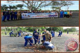 Satpolairud Polres Tanah Bumbu Tanam 250 Pohon
