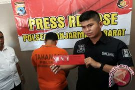 Polsekta Banjarmasin Barat Sita Tiga Paket Sabu