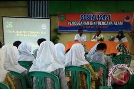 BPBD Tapin Sosialisasi pencegahan dini bencana ke pelajar