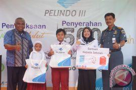 Tandon Pelindo III Untuk SDN Pelambuan 07