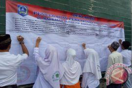 Deklarasi Cegah Perkawinan Anak Usia Dini HSS