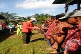 Yayasan Adaro Tanam 200 Bibit Pucuk Merah