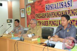 Polres Banjar Sosialisasi Larangan Pungli