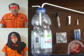 Polisi Grebek Pasangan Nyabu di Penginapan