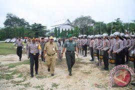 Polres  Apel Gelar Pasukan Operasi Mantab Praja