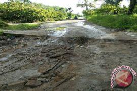 Warga Tanbu Harapkan Perbaikan Jalan Nasional