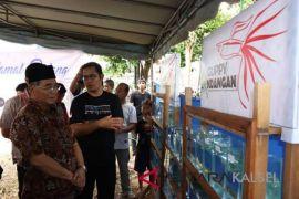 Komunitas Guppy Kandangan Gelar Kontes Ikan