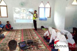 Polres HSS Ajak Pelajar Tertib Berlalu Lintas