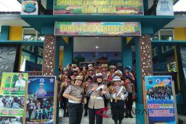 Personel Polres Banjarbaru Siap Mengajar SD-SMP
