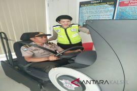 Polisi Juga Wajib Ikuti Uji Simulator SIM