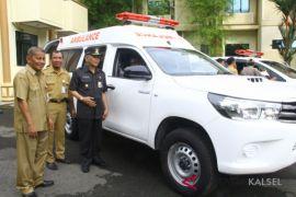 Puskesmas Se HST Punya Mobil Ambulan Baru