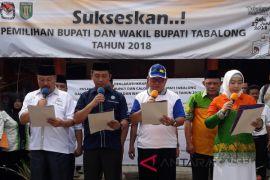 KPU Tabalong Gelar Pawai Damai Pilkada 2018