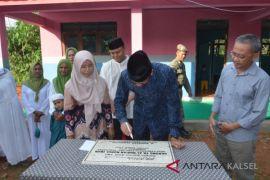 Bupati Resmikan Gedung TK Al-Quran Kandangan Baru