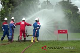 Pertamina Tanjung gelar lomba penanggulangan kebakaran