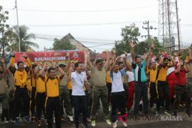 Elemen Masyarakat HST Deklarasi Anti Hoax