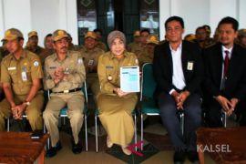 Bupati Batola Laporkan SPT Secara Online