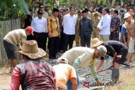 Kunker Presiden Jokowi di Kalsel