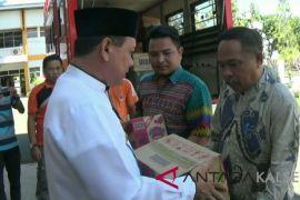 Kotabaru Menyiapkan Bantuan Sembako ke Pulau Sembilan