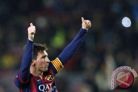 Gol Messi Bawa Barca Unggul Depalan Poin Atas Atletico