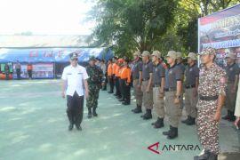 Antisipasi Karhutla, relawan HST latihan bersama penanggulangan bencana
