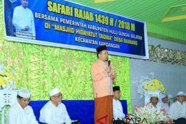 Kegiatan RPJMD Kabupaten HSS Capai 90 Persen