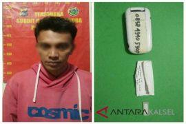 Tersangka Bungkus Narkotika Dengan Kertas ATM