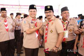 Pjs Bupati Hadiri Pelantikan Kepengurusan Kwarda Kalsel