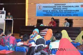 RSUD Abdul Aziz gelar workshop PPI