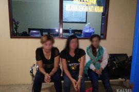 Satpolairud Banjarmasin Amankan Tiga Wanita diduga PSK