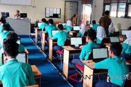34 SMP di HSS laksanakan UNBK