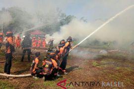 BPBD Banjar tangani Karhutla ratusan hektare