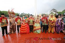 Bordir sasirangan khas Banjarbaru baru ikuti tren