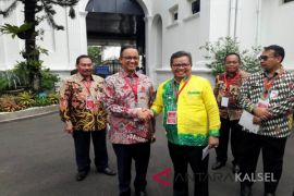 Bupati Balangan Sapa Gubernur DKI Jakarta Anies Baswedan