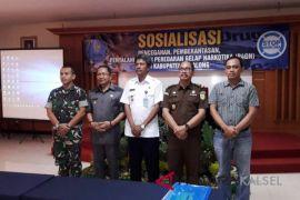 ASN Tabalong ikuti sosialisasi pemberantasan narkoba