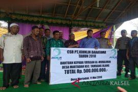Yayasan Al-Muhajirin Terima Dana CSR Rp500 Juta