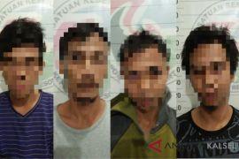 Dalam sehari Polres HST ringkus empat pengedar narkoba